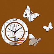 라운드 현대/현대 벽 시계 , 가족 기타 15.75*15.75