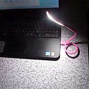 mini usb regulable flexibles portátil llevó la luz de la noche de luz de lectura banco de la energía del ordenador portátil pc teclado de