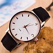 zzak 여성 / 남성의 스틸 밴드 아날로그 석영 캐주얼 시계 더 많은 색상