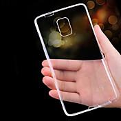 Für Samsung Galaxy Note Ultra dünn / Transparent Hülle Rückseitenabdeckung Hülle Einheitliche Farbe TPU Samsung Note 5 / Note 4 / Note 3