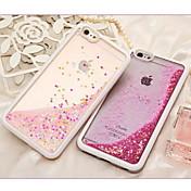 Para Funda iPhone 6 / Funda iPhone 6 Plus Líquido Funda Cubierta Trasera Funda Brillante Suave TPU iPhone 6s Plus/6 Plus / iPhone 6s/6