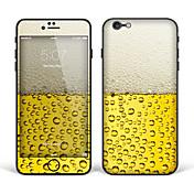 """아이폰 6 플러스 / 기가 플러스 바디 아트 피부 스티커 """"맥주""""(크리 에이 티브 시리즈)"""