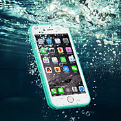 Para iPhone 8 iPhone 8 Plus iPhone 7 iPhone 7 Plus iPhone 6 iPhone 6 Plus Carcasa Funda Resistente al Agua Transparente Cuerpo Entero
