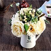 실크 장미 / 데이지 꽃 / 과일 인공 꽃