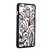 용 아이폰6케이스 / 아이폰6플러스 케이스 반투명 / 패턴 케이스 뒷면 커버 케이스 꽃장식 하드 PC iPhone 6s Plus/6 Plus / iPhone 6s/6