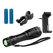 ZK10 Linternas LED LED 4000 Lumens 5 Modo Cree XM-L T6 1 x Batería 18650 Enfoque Ajustable Resistente a Golpes Empuñadura Anti Deslice