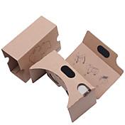 DIY 판지 가상 현실 3D 안경 VR tookit (업그레이드 된 버전의 34mm 렌즈)