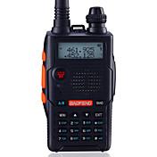 BaoFeng Portátil / Digital UV-5R5TH-BLK Radio FM / Comando por Voz / Banda Dual / Display Dual / Standby Dual / Pantalla LCD / CTCSS/CDCSS