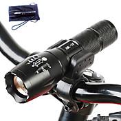 A100 Linternas LED LED 3000 Lumens 5 Modo Cree T6 No incluye baterías Enfoque Ajustable Resistente a Golpes Empuñadura Anti Deslice