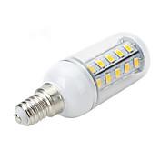 6W E14 / E26/E27 LED 콘 조명 T 36 SMD 5730 500-600 lm 따뜻한 화이트 / 차가운 화이트 AC 220-240 V
