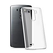 Para Funda LG Transparente Funda Cubierta Trasera Funda Un Color Suave TPU LG LG K10 / LG K7 / LG G5 / LG G4 / LG G3