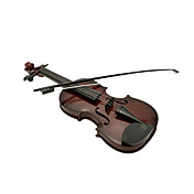 3 악기 장난감 이상 어린이를위한 플라스틱 갈색 시뮬레이션 자식 바이올린