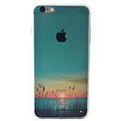 용 아이폰6케이스 / 아이폰6플러스 케이스 패턴 케이스 뒷면 커버 케이스 풍경 소프트 TPU Apple iPhone 6s Plus/6 Plus / iPhone 6s/6