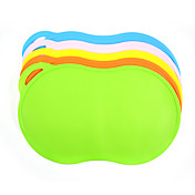 고양이 / 강아지 그릇&물병 애완동물 그릇 & 수유 방수 / 휴대용 그린 / 블루 / 핑크 / 옐로우 / 오렌지 실리콘