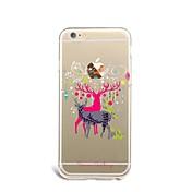 제품 아이폰7케이스 아이폰7플러스 케이스 아이폰6케이스 케이스 커버 울트라 씬 패턴 뒷면 커버 케이스 크리스마스 소프트 TPU 용 Apple아이폰 7 플러스 아이폰 (7) iPhone 6s Plus iPhone 6 Plus iPhone 6s