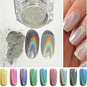 1 Nail Art Decoración Las perlas de diamantes de imitación maquillaje cosmético Nail Art