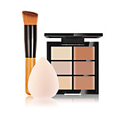 6 Corrector/ContourBorla Para Maquillaje/Esponja Cosmética / Pinceles de Maquillaje Húmedo Rostro Corrector China Otros