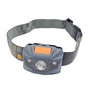 Linternas de Cabeza LED 100 Lumens 3 Modo LED AAA Empuñadura Anti Deslice Tamaño Compacto Alta Potencia Color variable