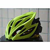 여성용 / 남성용 / 남여 공용 - 산 / 도로 / 스포츠 / 하프 쉘 - 사이클링 / 산악 사이클링 / 도로 사이클링 / 레크리에이션 사이클링 - 헬멧 ( 블루 / 라이트 그린 / 퓨샤 , PC / EPS ) 20 통풍구