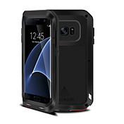 Para Samsung Galaxy S7 Edge Antigolpes Funda Cuerpo Entero Funda Armadura Metal Samsung S7 edge / S7 / S6 edge plus