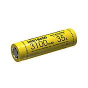 nitecore imr18650의 3100mah의 35A 리튬 이온 충전 배터리