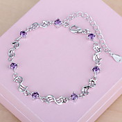 Chain Bracelet Sterling Silver Others Fashion Gift Jewelry Gift Silver1pc