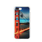 용 패턴 케이스 뒷면 커버 케이스 시티뷰 소프트 TPU 용 Apple 아이폰 7 플러스 아이폰 (7) iPhone 6s Plus/6 Plus iPhone 6s/6