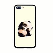 Para Diseños Funda Cubierta Trasera Funda Animal Dura Acrílico para AppleiPhone 7 Plus iPhone 7 iPhone 6s Plus iPhone 6 Plus iPhone 6s