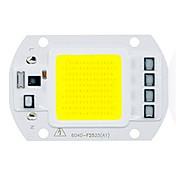 DIY를위한 50w utral 밝은 LED 옥수수 속 칩 110V에 220V 입력 스마트 IC가 주도 홍수 빛 (1 개)