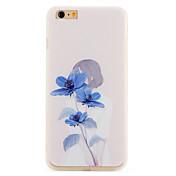 용 패턴 케이스 뒷면 커버 케이스 꽃장식 소프트 TPU 용 Apple 아이폰 7 플러스 아이폰 (7)