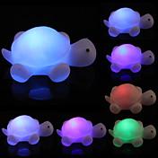 1PCS 새로운 거북이 7 색은 야간 조명 파티 장식 다채로운 변화 주도