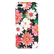 용 패턴 DIY 케이스 뒷면 커버 케이스 꽃장식 하드 PC 용 Apple 아이폰 7 플러스 아이폰 (7) iPhone 6s Plus iPhone 6 Plus iPhone 6s 아이폰 6