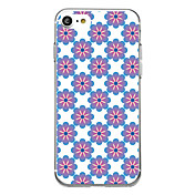 For Ultra Thin Pattern Case Back Cover Case Flower Soft TPU for  iPhone 7 Plus  7  6s Plus 6 Plus 6s SE 5S 5