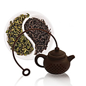 10 ml Silicona Colador de té , Té Verde Fabricante Reutilizable