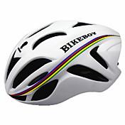 스포츠 남성용 남여 공용 자전거 헬멧 18 통풍구 싸이클링 사이클링 산악 사이클링 M : 55-58CM L : 58-61CM PC EPS 옐로우 화이트 블랙 블루