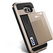 samsung galaxy s8 plus s8 더하기 s8 phone case 슬라이드 신용 카드 슬롯 지갑은 삼성 갤럭시 s7 가장자리 s7 s6 가장자리 플러스 s6 가장자리 s6