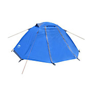 DesertFox® 1 Persona Tienda Doble Carpa para camping Tienda de Campaña Plegable Impermeable Resistente a la lluvia Muy ligero 2000-3000 mm