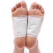 1 박스 바디 독소 클렌징 건강 해독제 해독 발 발 패치 패드 키트 (10 패치 및 10 접착제)