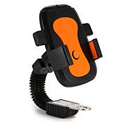 Montaje para Soporte de Teléfono Bicicleta Motocicleta Soporte Ajustable ABS for Teléfono Móvil