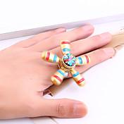 여성용 문자 반지 오팔 유니크 디자인 Euramerican 스테이트먼트 쥬얼리 드롭 보석류 제품 일상복 캐쥬얼