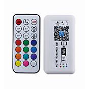 ios 또는 안드로이드 시스템 (rgb)과 21 키 무선 rf 와이파이 컨트롤러 스마트 폰 애플 리케이션 컨트롤