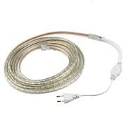 15W 유연한 LED 조명 스트립 1200 lm AC220 V 2 m 60 LED가 웜 화이트 화이트 레드 옐로 블루 그린