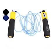VIZAVI PVC+Plastic Professional Counting Jump Rope - 3M(Color Ramdon)