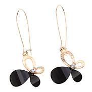 Black Jewel Schmetterlings-Diamant-Ohrringe