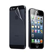12X Clear Front-und Back-Schirm-Schutz für iPhone 5