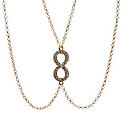 Rome Lucky Number 8 Body Chain Lacklace
