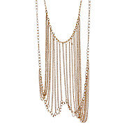 Fringed Body Chain Lacklace