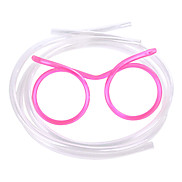 Funny PP Crazy Glasses Straw