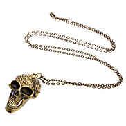 Retro Skull lthers Necklace