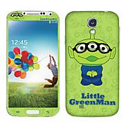 Cartoon Little Green Man Pattern Body Sticker for Samsung Galaxy S4 I9504